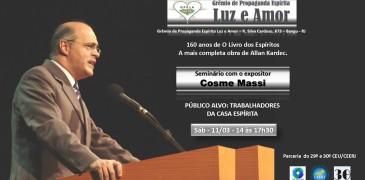 11/03 – Seminário com o expositor Carlos Massi