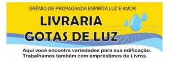 Livraria Gotas de Luz – visite!