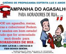 Campanha do Agasalho para Moradores de Rua.