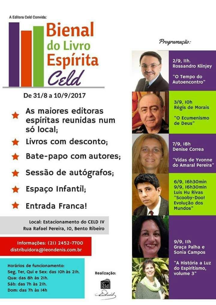 Bienal do Livro Espírita CELD.