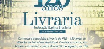 120 Anos Livraria FEB.