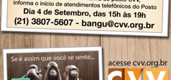 Inauguração Posto CVV Bangu.