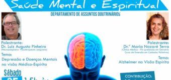 Seminário: Saúde Mental e Espiritual – 25/11/17