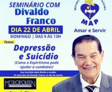 Seminário com Divaldo Franco 22/04/2018
