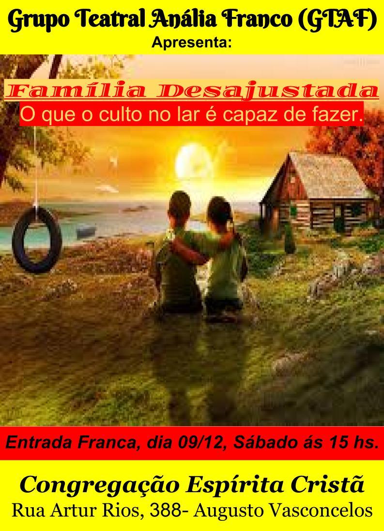Teatro – Família Desajustada 09/12