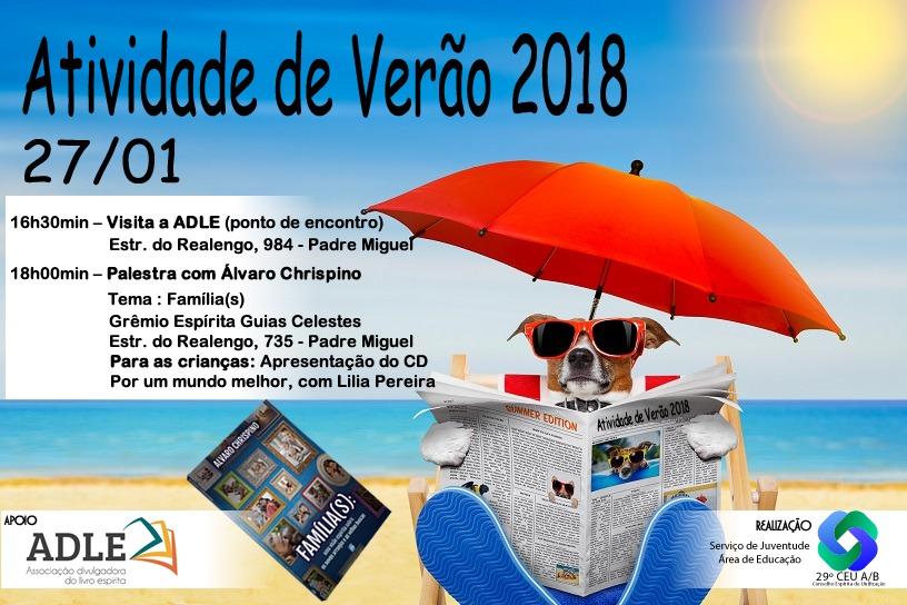 Atividade de Verão 2018