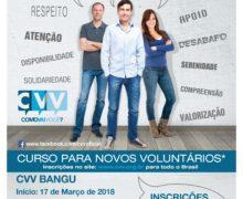 Seja Voluntário do CVV