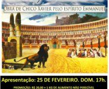 Peça teatral – Ave Cristo na lona de Bangu.