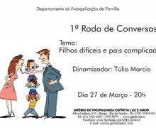 27/03 – 1º Roda de Conversa.