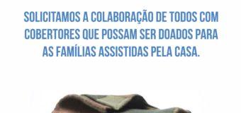 Campanha de Doação de Cobertores