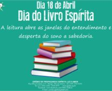 18/04 – Dia do Livro Espírita