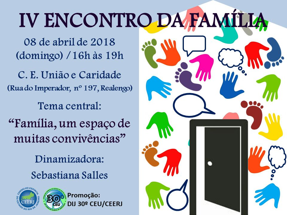 IV Encontro da Família – 08/04/18