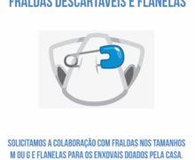 Campanha de Doação de Fraldas Descartáveis e Flanelas