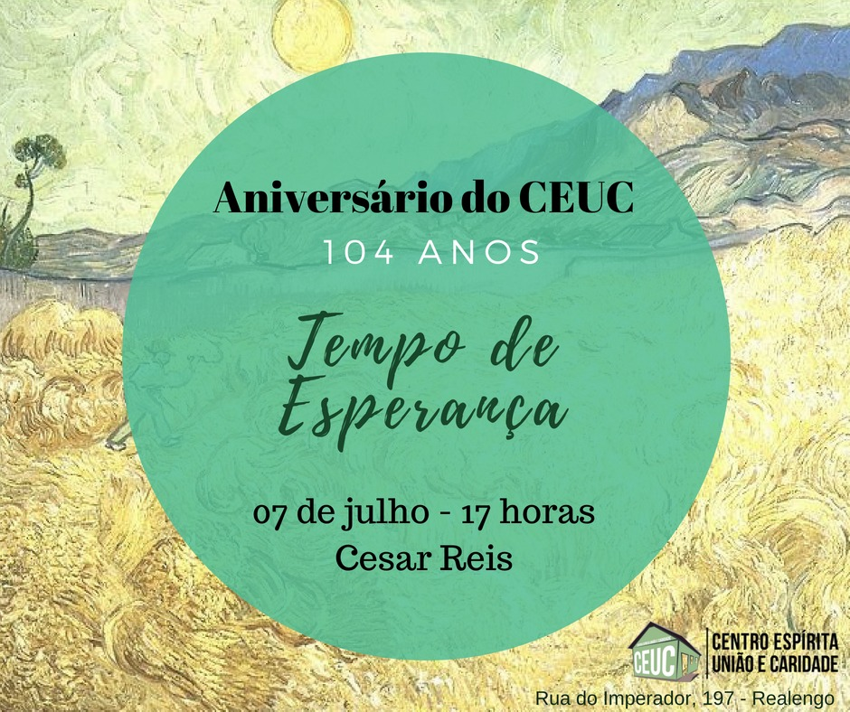 07/07 – Aniversário do CEUC