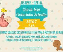 25/07 – Chá de bebê Costurinha Scheilla