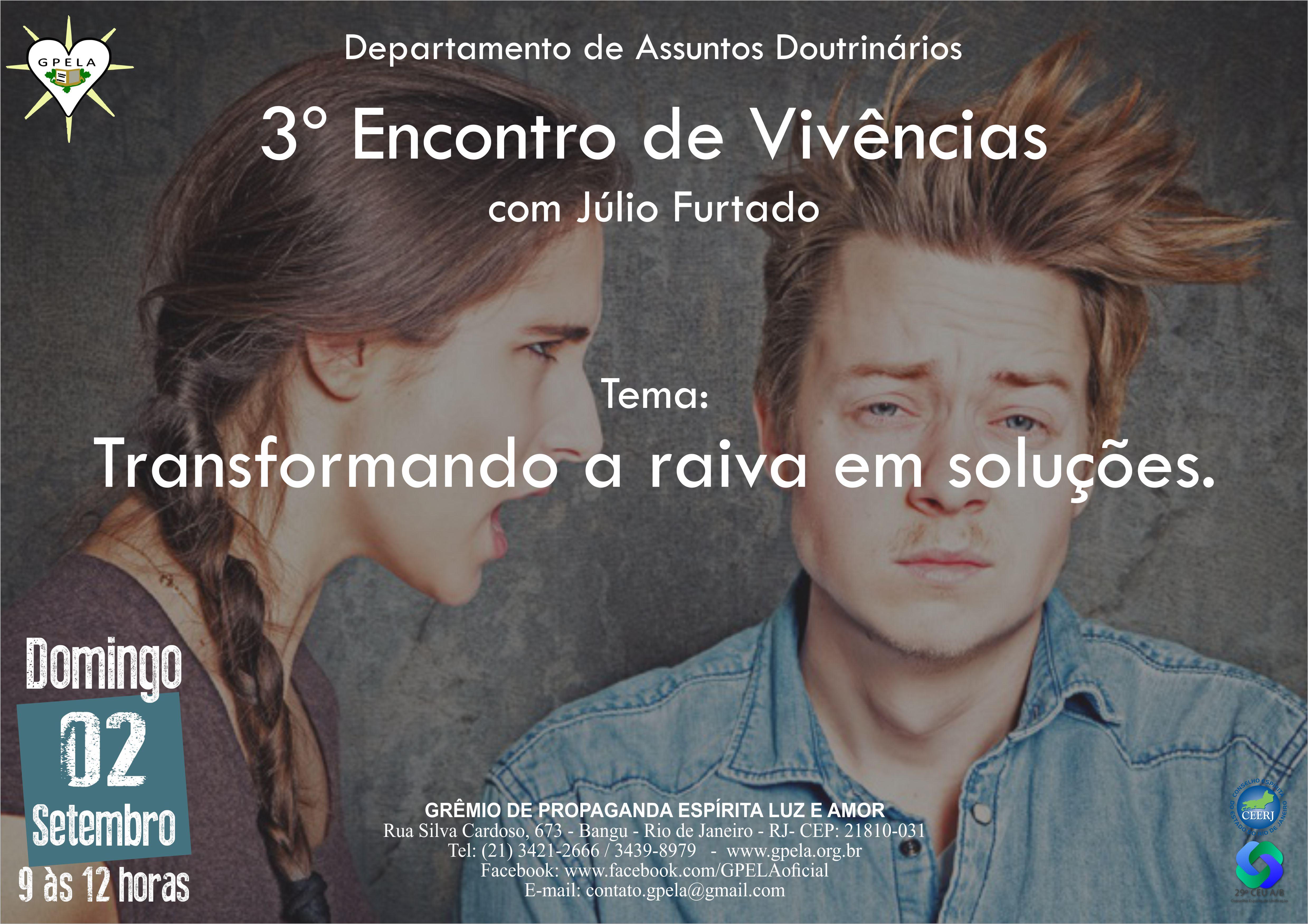 02/09/18 – 3º Encontro de Vivências com Júlio Furtado
