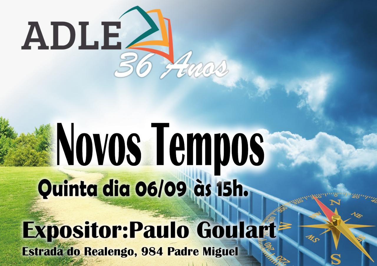 06/09/18 – ADLE – Novos Tempos