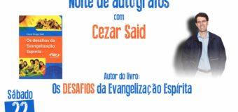 22/09 – Noite de autógrafos com Cezar Said