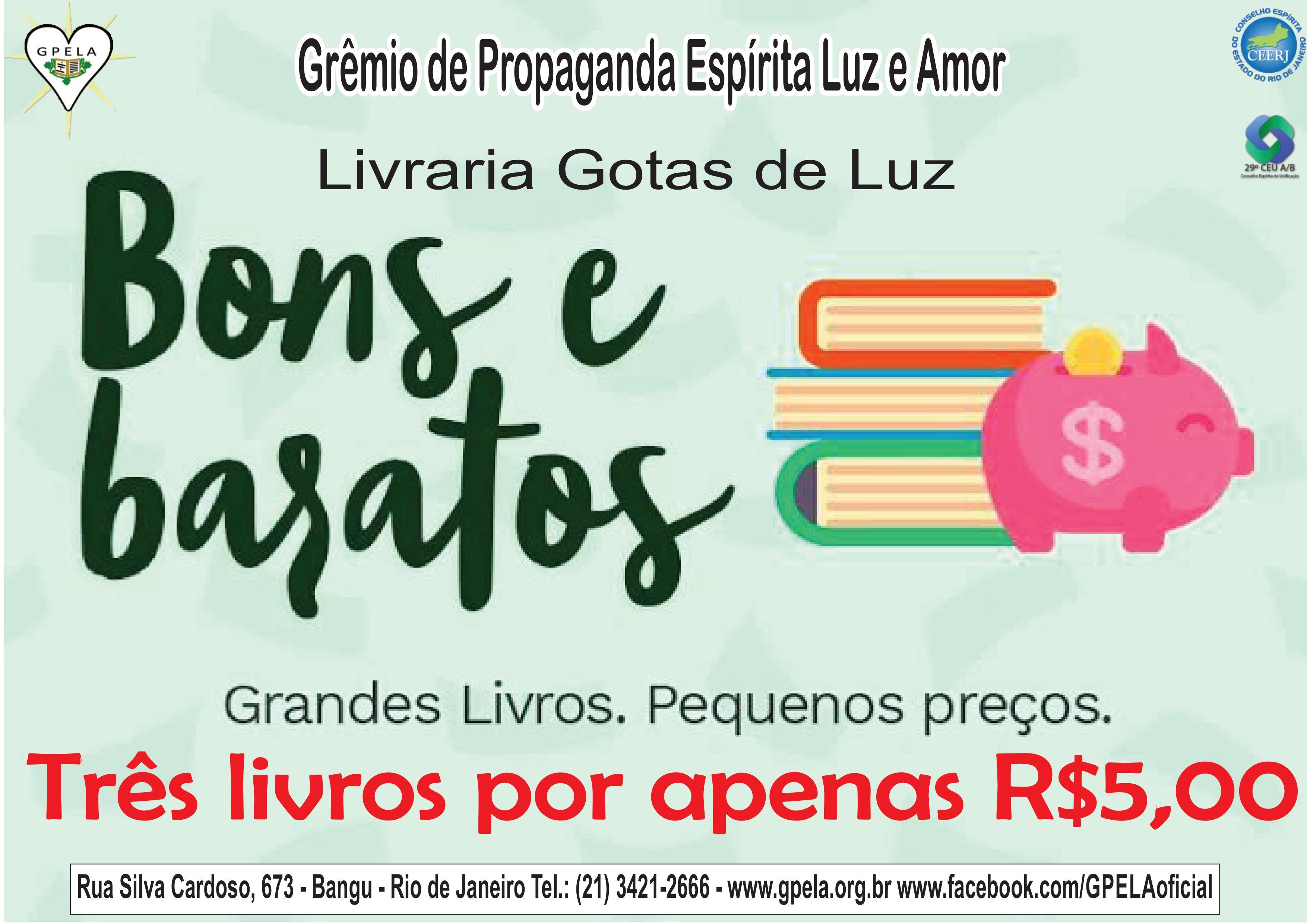Grandes livros, pequenos preços…