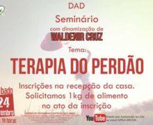24/11 – Seminário Tema: Terapia do Perdão