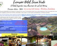 07 a 09/06/2019 Excursão Hotel Serra Verde