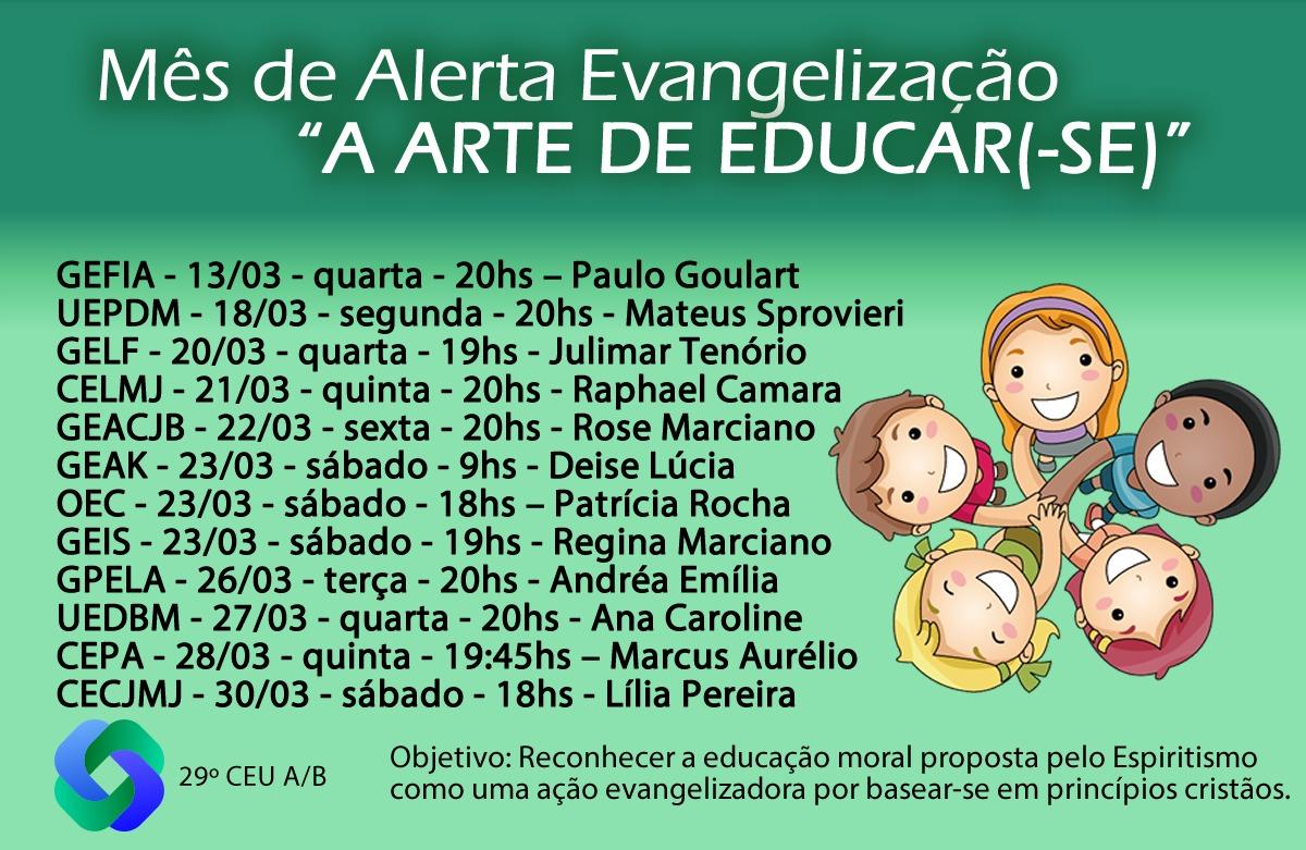 Mês de Alerta Evangelização.