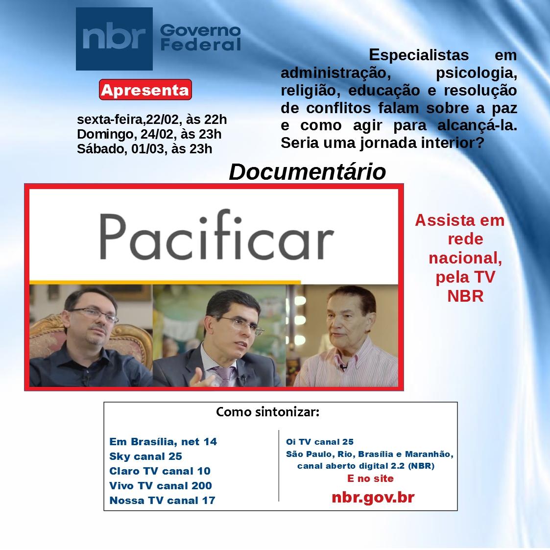 Espiritismo no canal de TV nbr