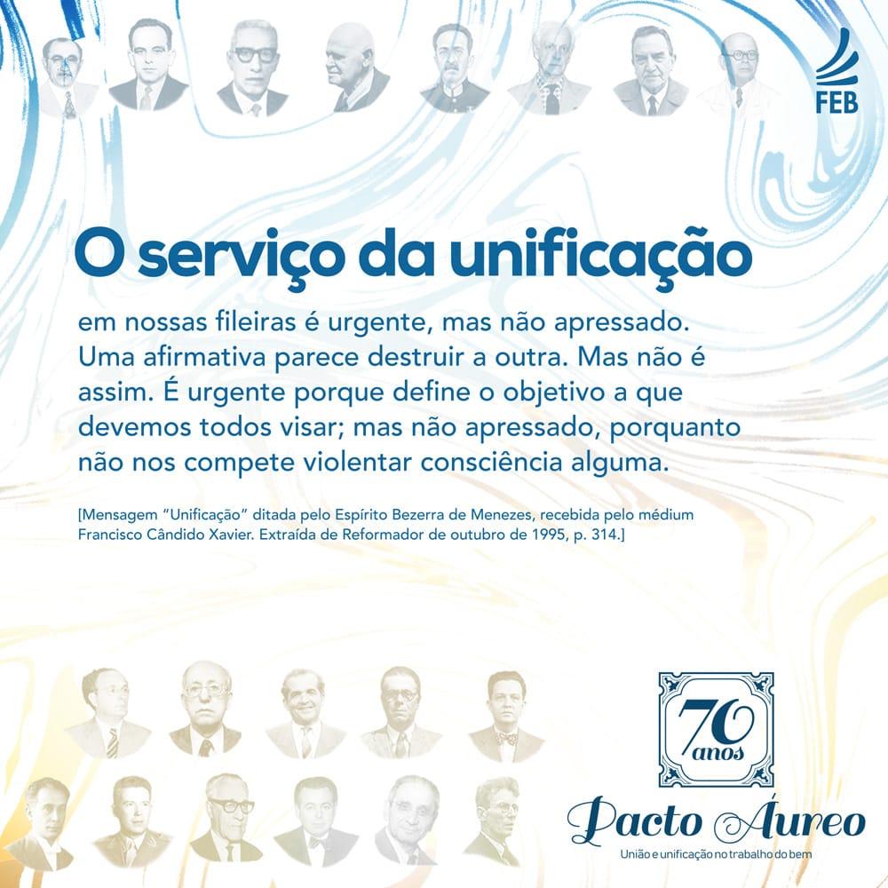 O serviço da unificação