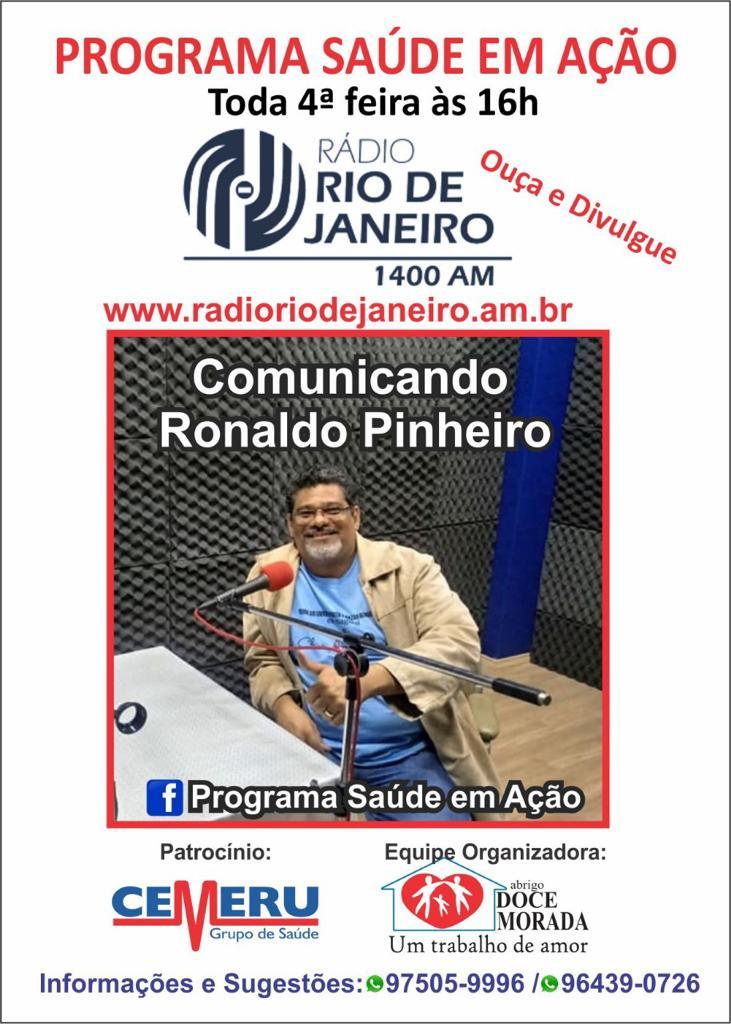 Rádio Rio de Janeiro – Programa Saúde em Ação