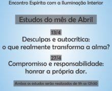13 e 27/04 – Encontro Espírita com a Iluminação Interior