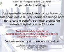 Doação de Computadores Para o Projeto de Inclusão Digital