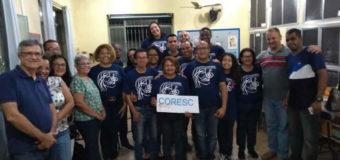 Presença do Coral de Santa Cruz na Palestra: A Gratidão como Recurso Para Aquisição da Paz