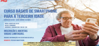 Curso Básico de Smartphone Para a Terceira Idade