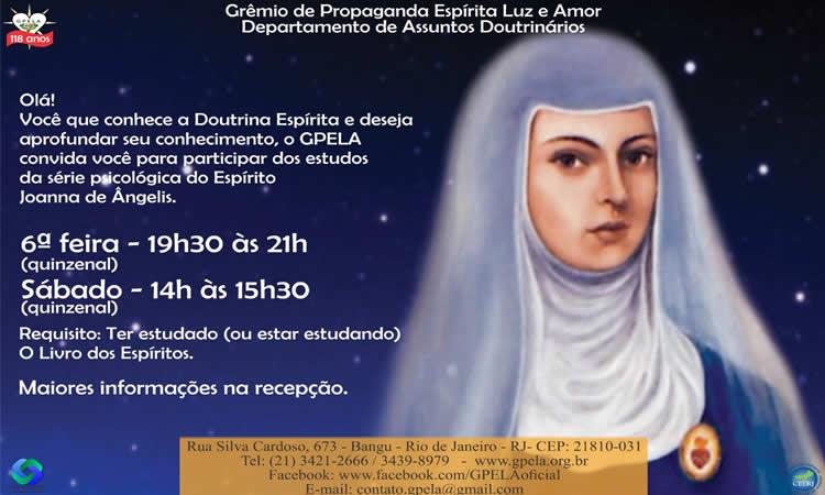 Estudos da Série Psicológica do Espírito Joana de Ângelis