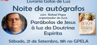 Noite de Autógrafos Com Rafael Papa