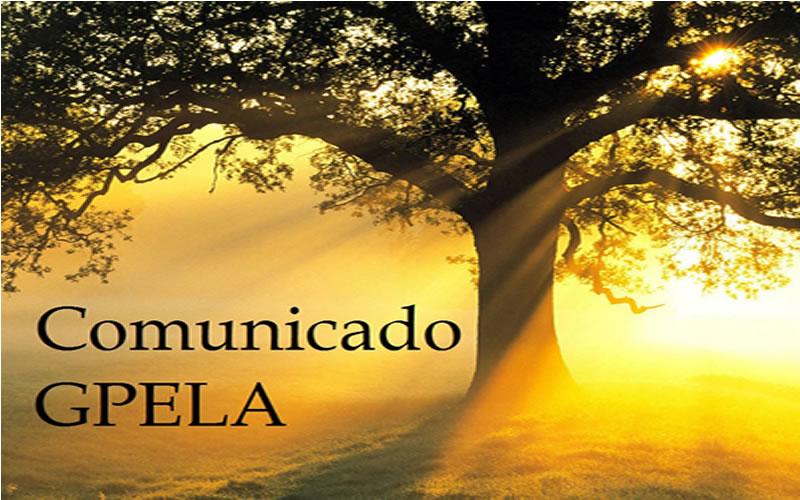 Comunicado GPELA