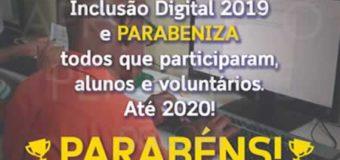 Inclusão Digital – Encerramento das turmas 2019