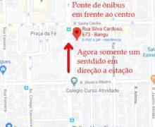Mudança no Tráfego da Rua Silva Cardoso