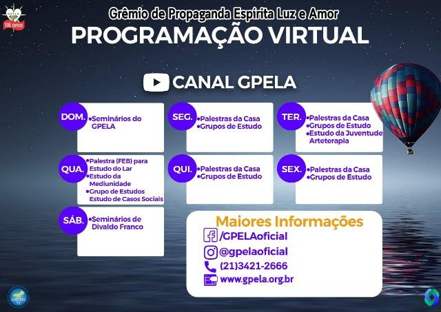 Programação Virtual GPELA