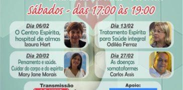Seminários Aos Sábados de Fevereiro às 15 Horas