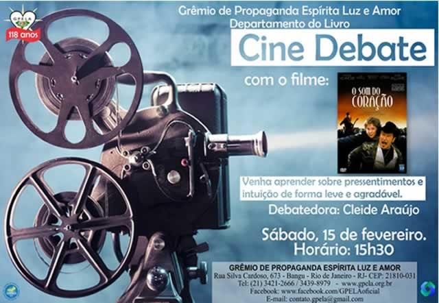 Cine Debate Com o Filme O Som do Coração